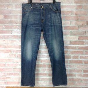 Tommy Hilfiger Jeans Custom Straight Fit Med Wash